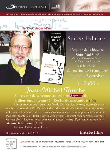 Invitation Librairie St-Paul